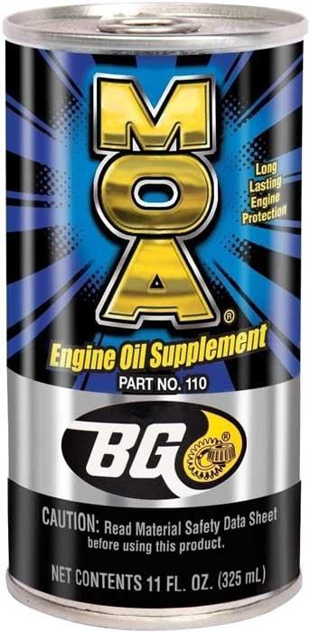 bg moa oil additive
