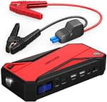 DBPOWER 600A Peak 18000mAh power jump starter